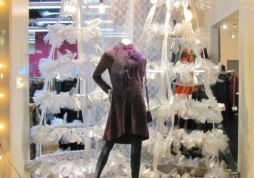Holiday Windows at Social Fabric