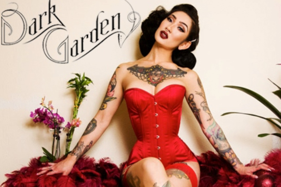 Dark Garden Unique Corsetry